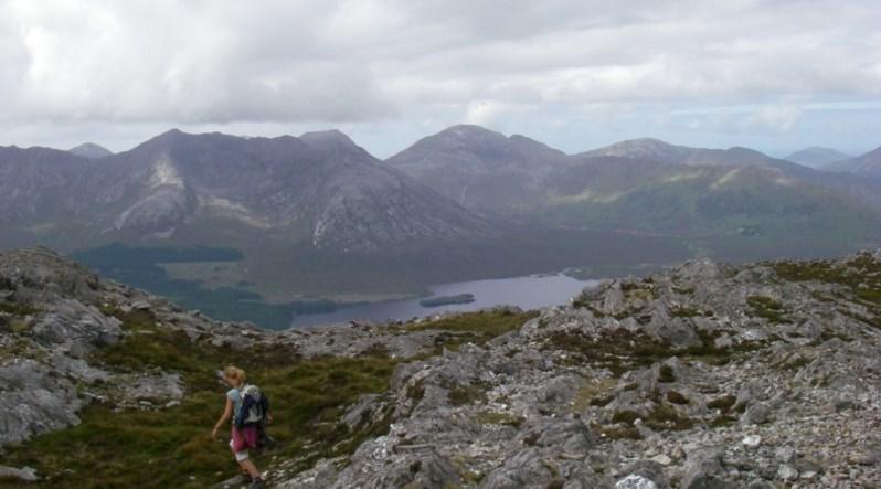 Connemara Wanderung auf eigene Faust